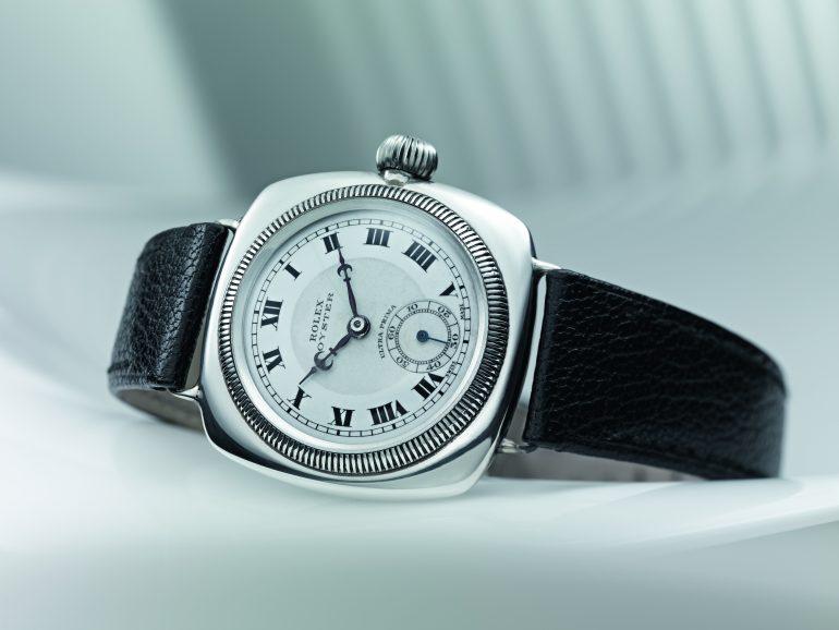 nueva-feria-relojes-Ginebra-Foto-1926_Premiere-Oyster-coussin