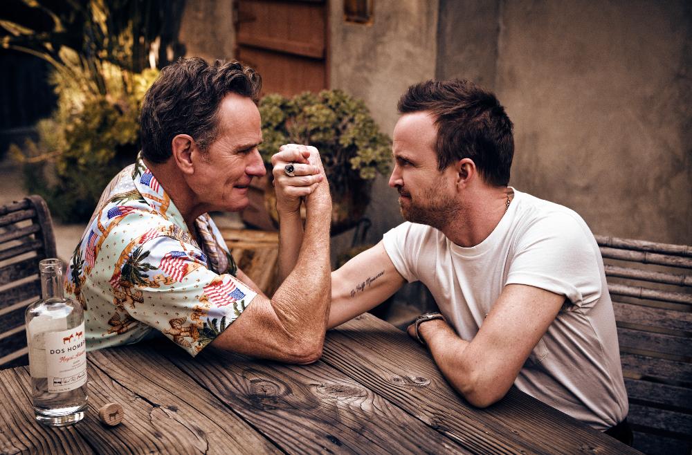 Bryan Cranston & Aaron Paul - Fotos Charlie Gray