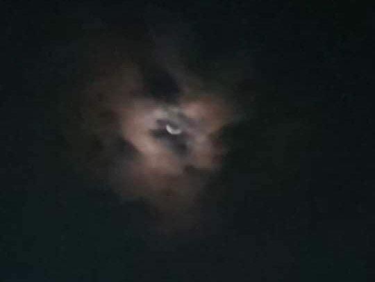 Luna rostro lucifer Foto Twitter