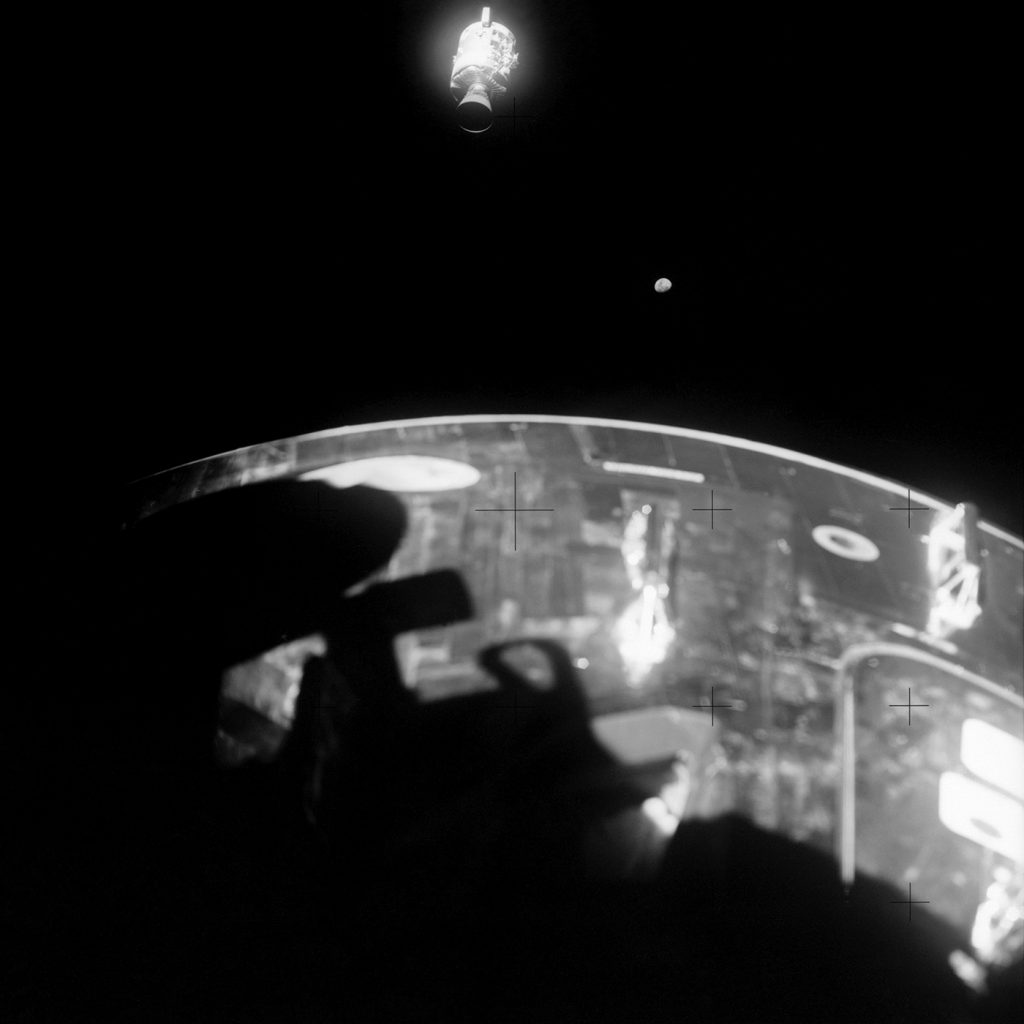 View of damaged Apollo 13 Service Module Foto NASA