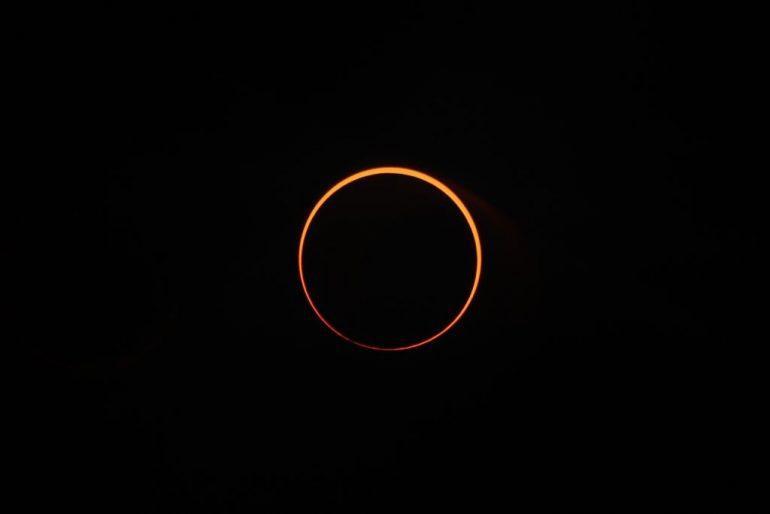 dónde ver el eclipse anillo de fuego del 21 de junio