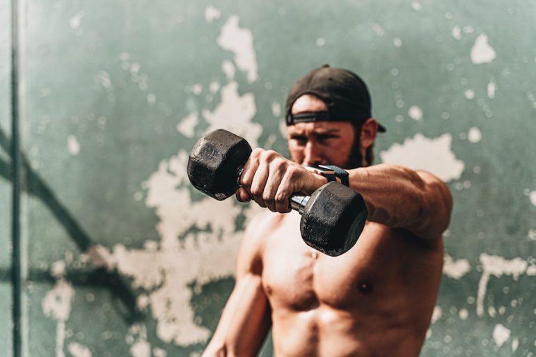 Ejercicios de peso muerto problemas de espalda mancuernas