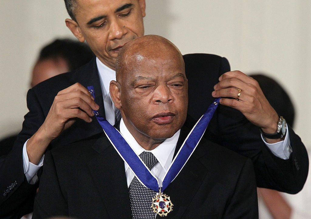 John Lewis Barack Obama derechos civiles