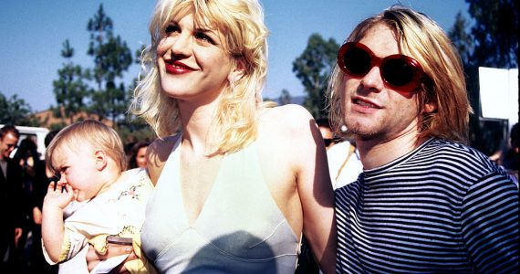 Kurt Cobain Courtney Love Frances Bean