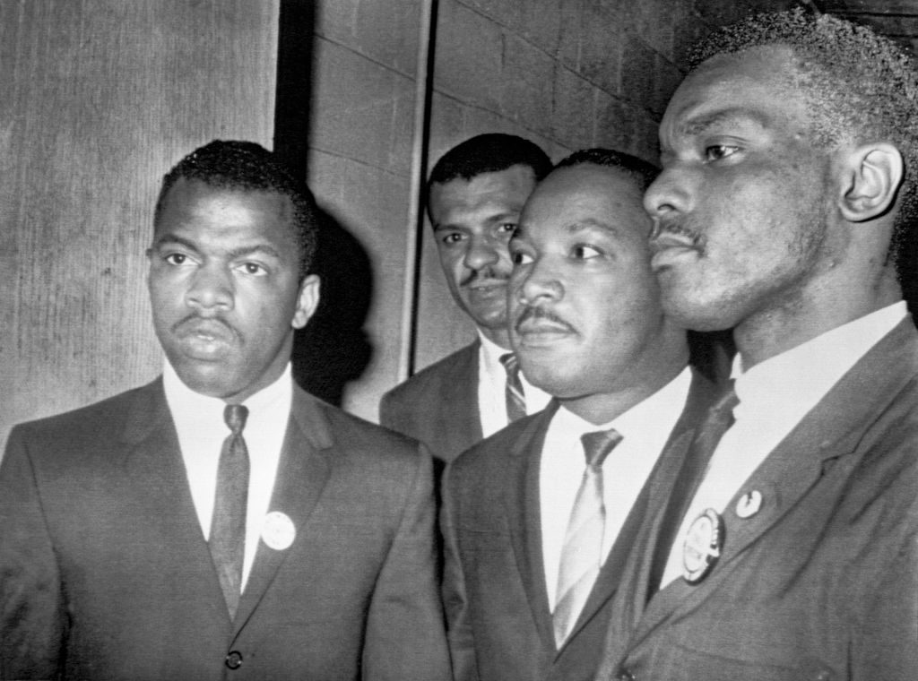 Martin Luther King Jr. John Lewis civil rights