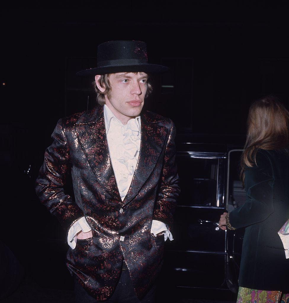 Mick Jagger estilo Rolling Stones