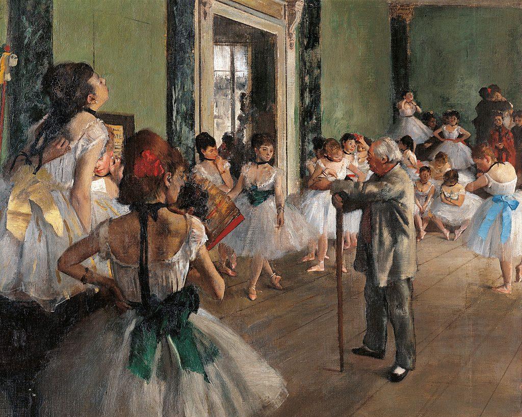 The dance class Edgar Degas Museo D'Orsay