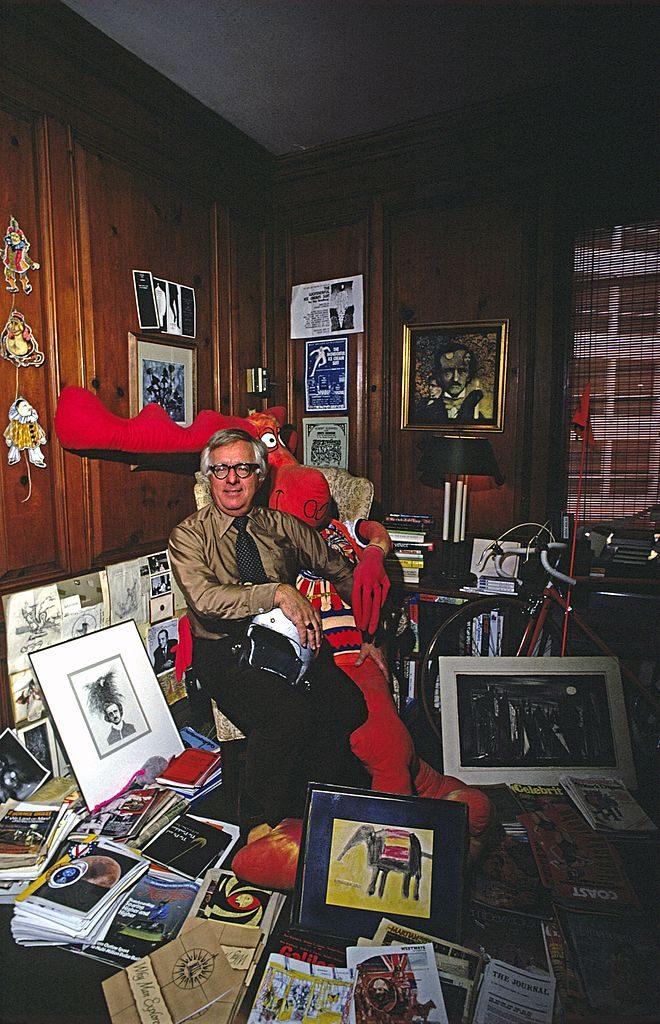 Writer Ray Bradbury 100 años