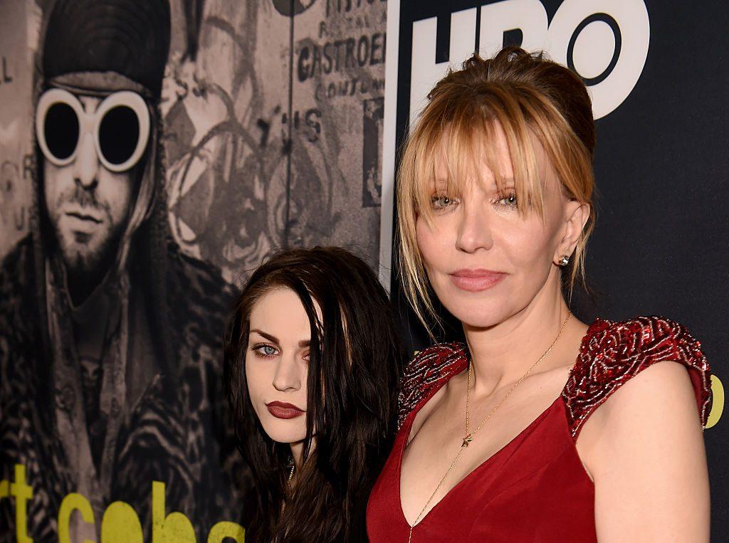 Courtney Love Frances Bean Kurt Cobain
