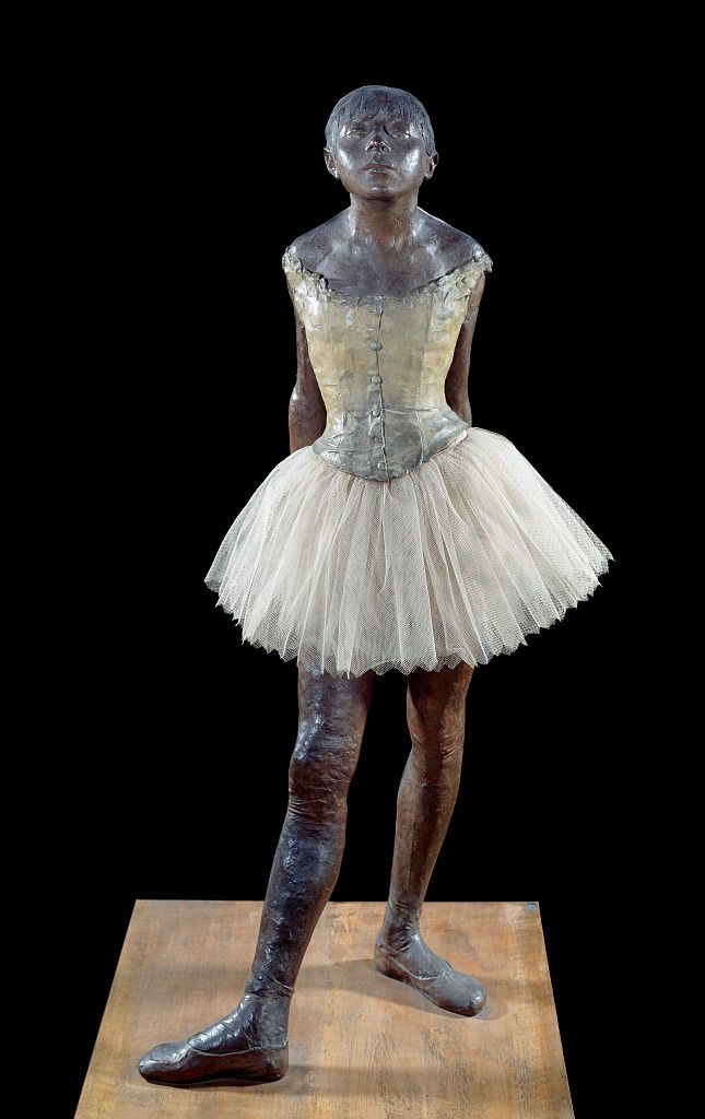 pequeña bailarina Edgar Degas Met Museum NYC
