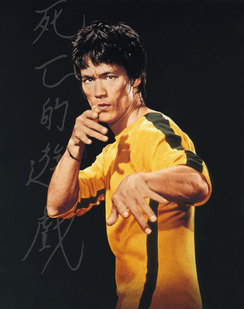 personajes de bruce lee game of death
