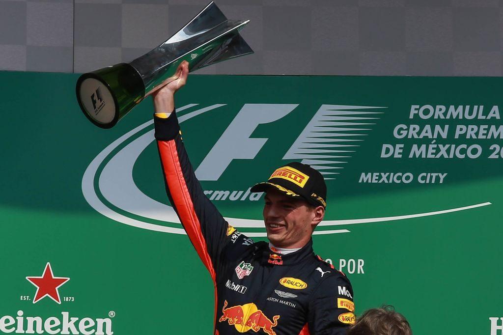Gran Premio de México Max Verstappen