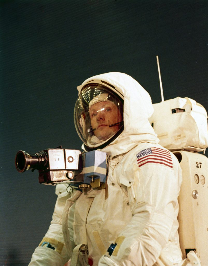 one small step for man neil Armstrong