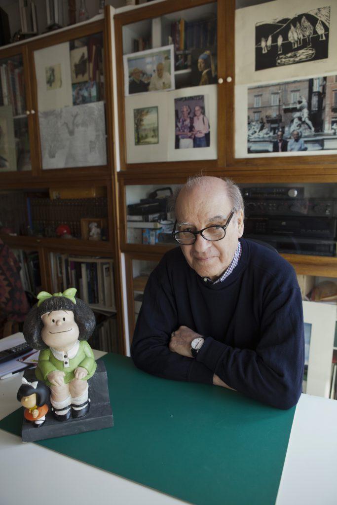 Mafalda Quino ilustrador Argentino