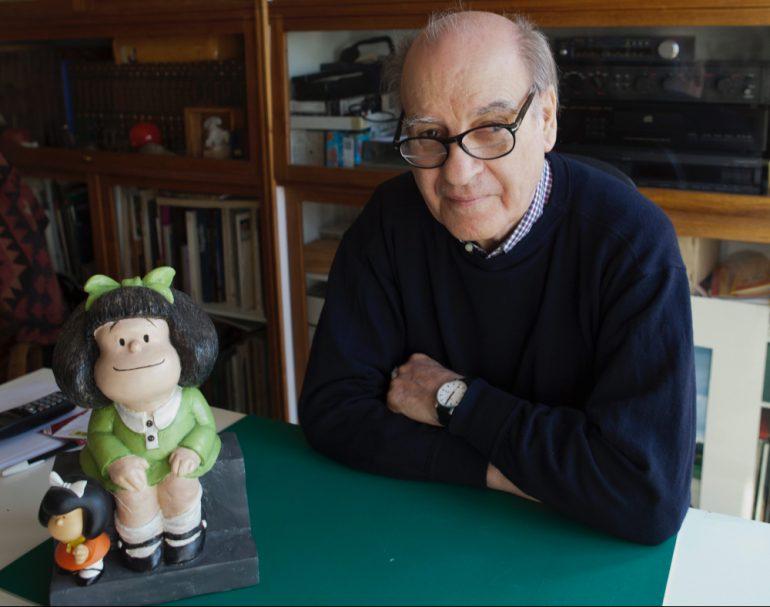 Mafalda quino ilustrador crítica social