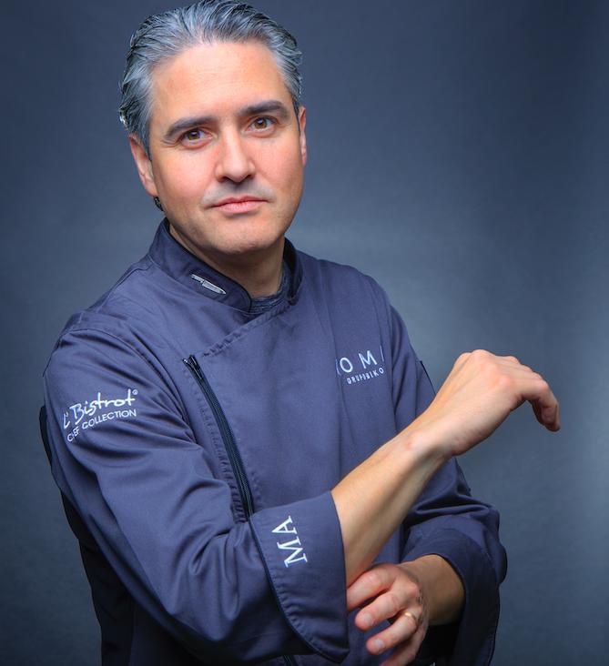 Mikel Alonso Chef koma biko Esquire