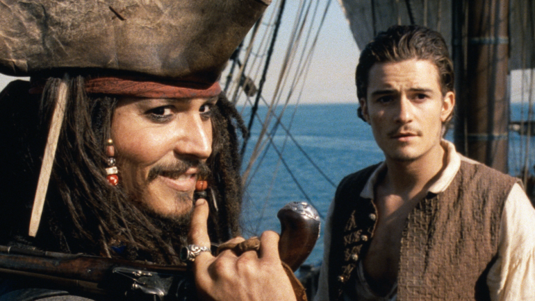 Multiuniverso piratas del caribe johnny depp orlando bloom