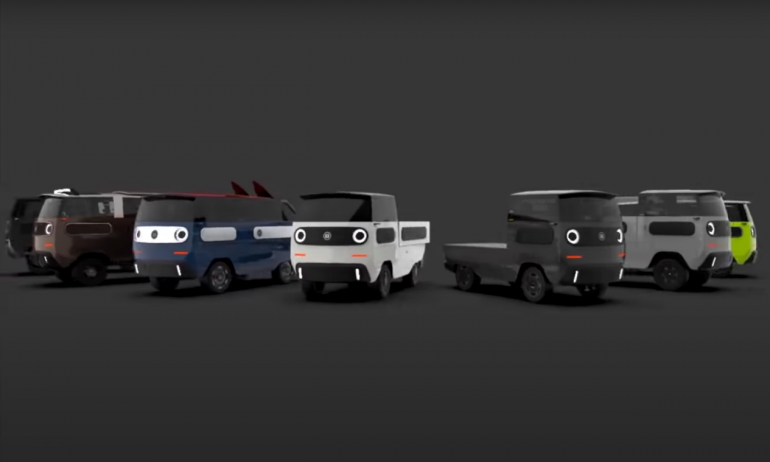ebussy camioneta eléctrica