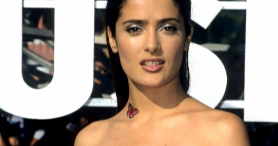 fotos salma Hayek sensual hot sexy