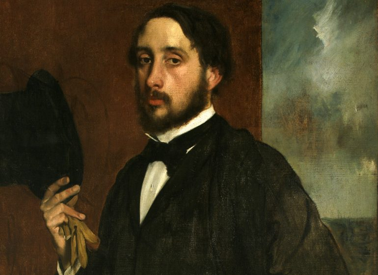 historia de Edgar Degas post impresionista
