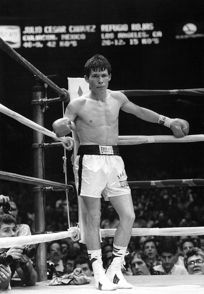 Julio César Chavez boxeador mexicano campeón