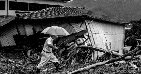 lluvias torrenciales en Japón muertos desaparecidos