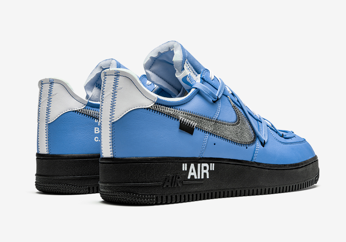 air force 1 off white azul