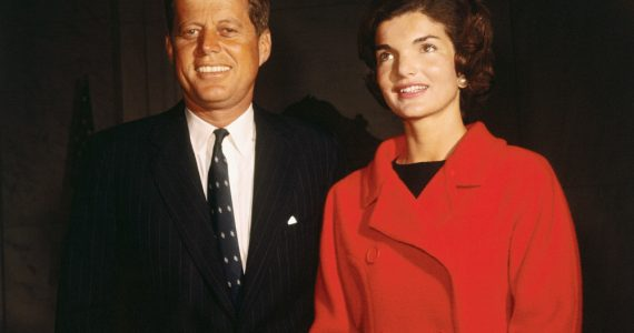 presidentes que fueron celebridades John F Kennedy Jackie Kennedy