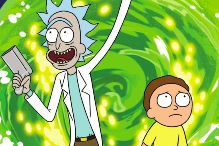 rick & morty temporada 5 comic-con