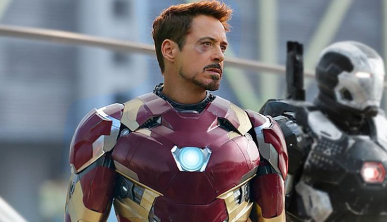 robert downey jr. felicitó a bridger Ironman