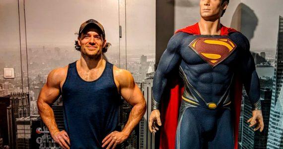 Henry Cavill, entrenamiento de Superman