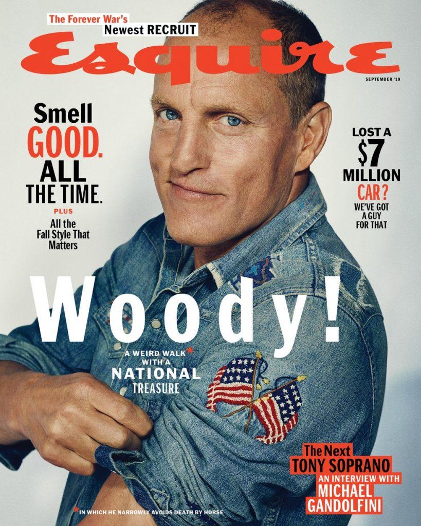 woody harrelson esquire 2019