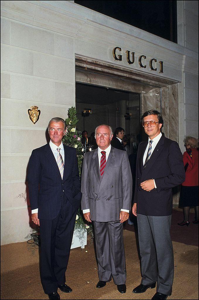 Roberto,Maurizioy Georgio Gucci Gucci película Ridley Scott