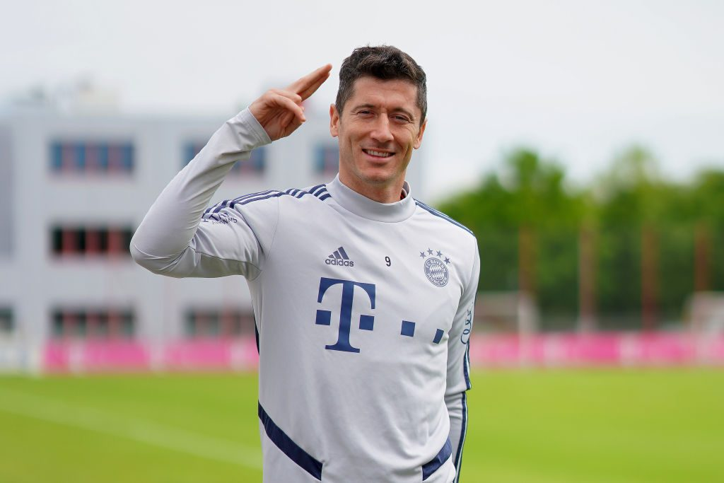 Robert Lewandowski paris saint germain PSG Champions League