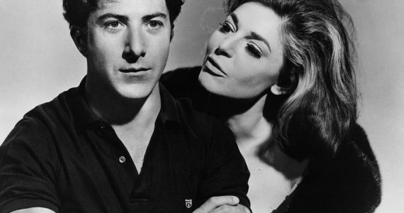El Graduado Dustin Hoffman Anne Bancroft In 'The Graduate'