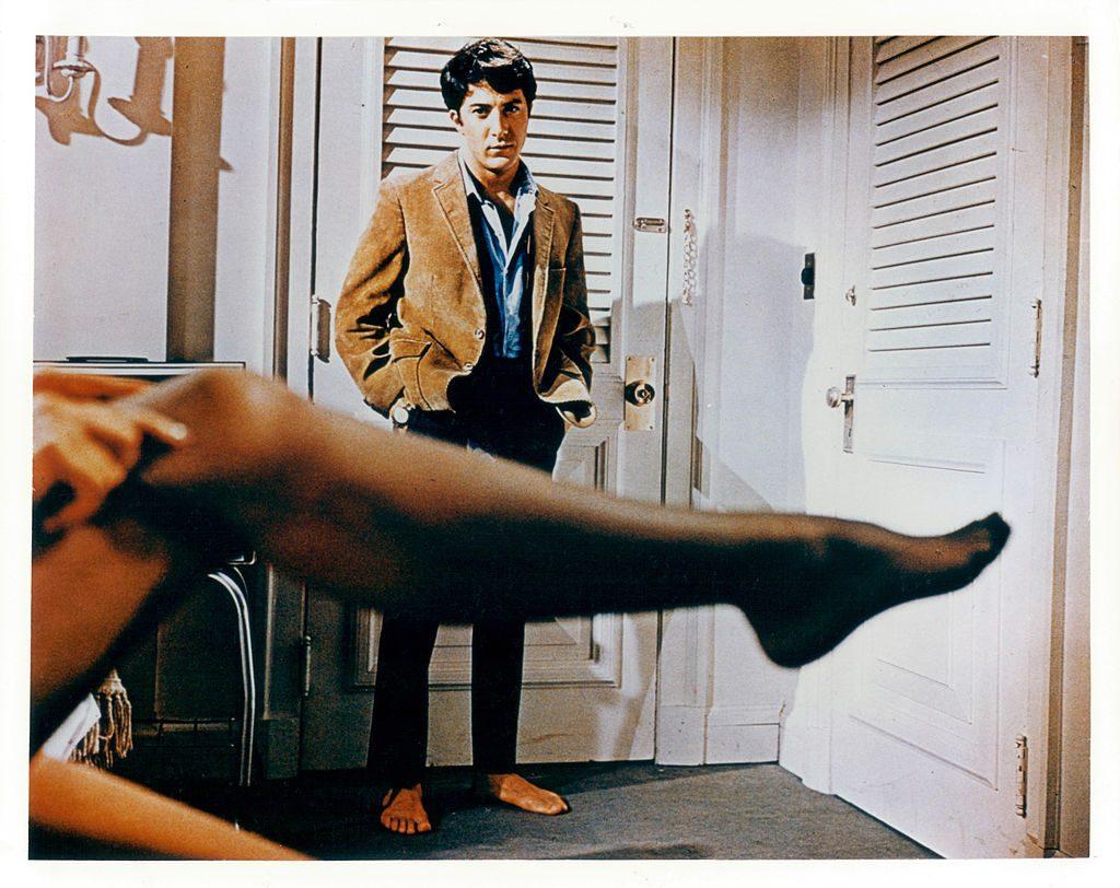 El Graduado Dustin Hoffman Anne Bancroft In 'The Graduate'