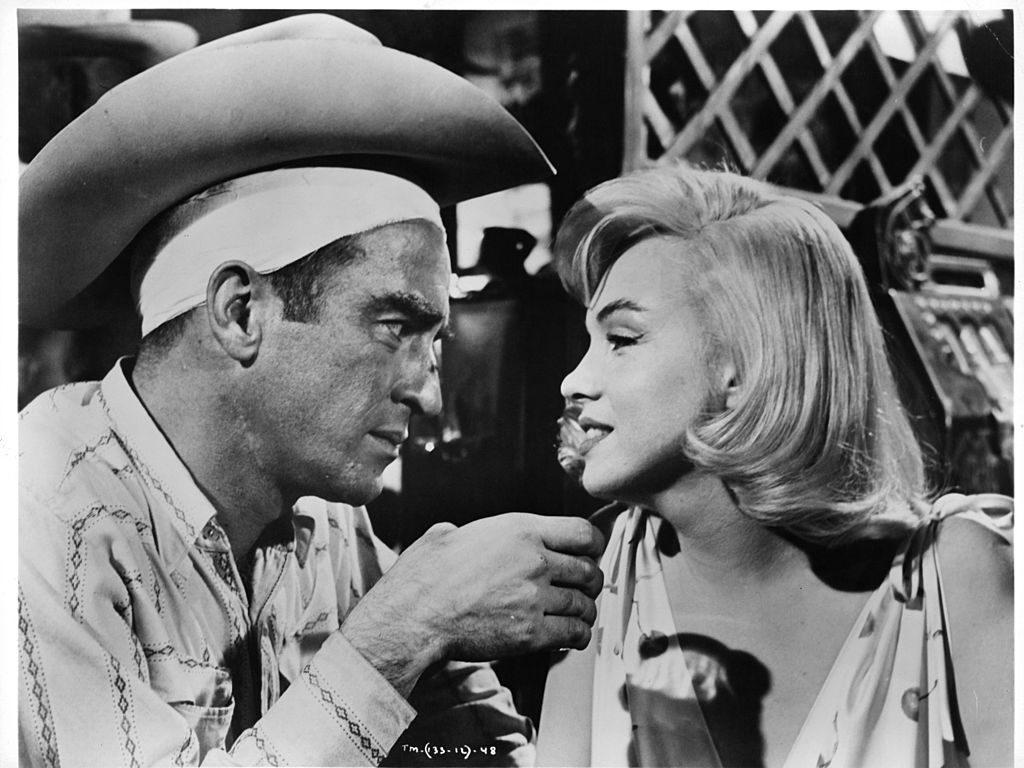 the misfits la última película de Marilyn Monroe