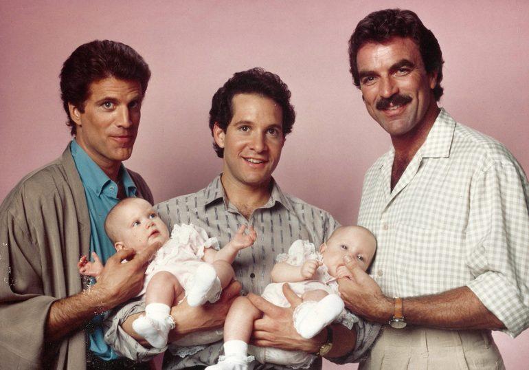 el fantasma de tres hombres y un bebé es real