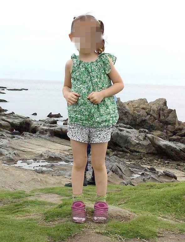 terroríficos fantasmas en fotografías niña Samurai