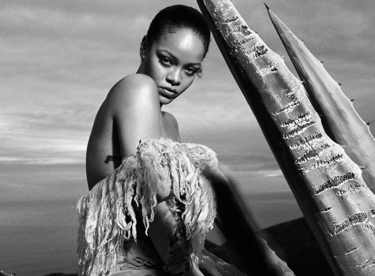 Rihanna Gray Sorrenti Harper's Bazaar September Issue