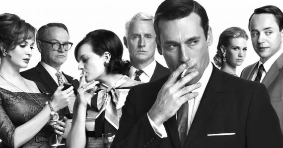 mad men antes y después AMC Amazon