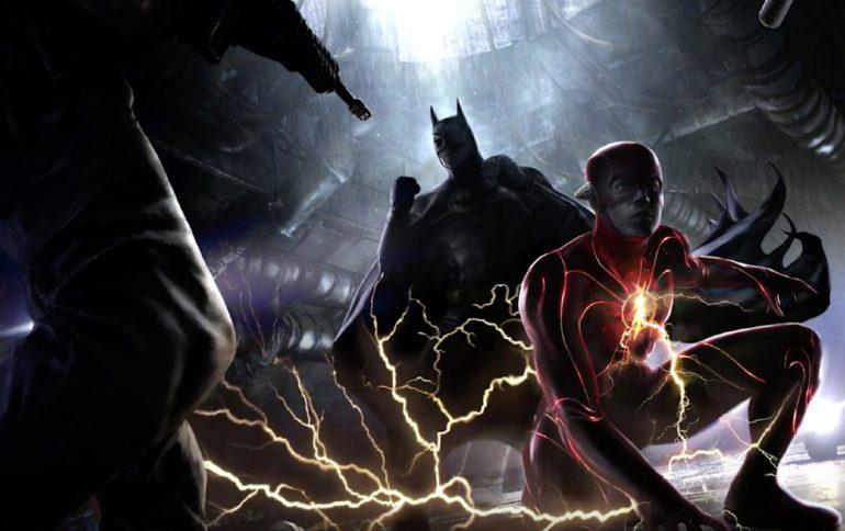 nuevo traje de the flash dc FanDome III