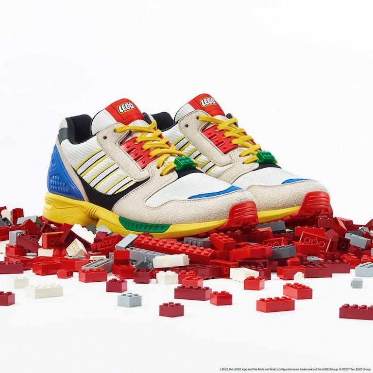 Adidas LEGO tenis bloques