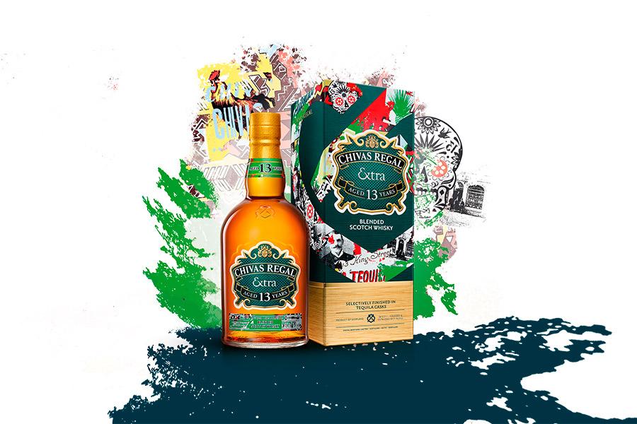 Chivas Regal Extra 13 Tequila Diego Luna