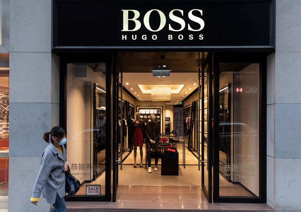 Marcas Nazi - Hugo Boss