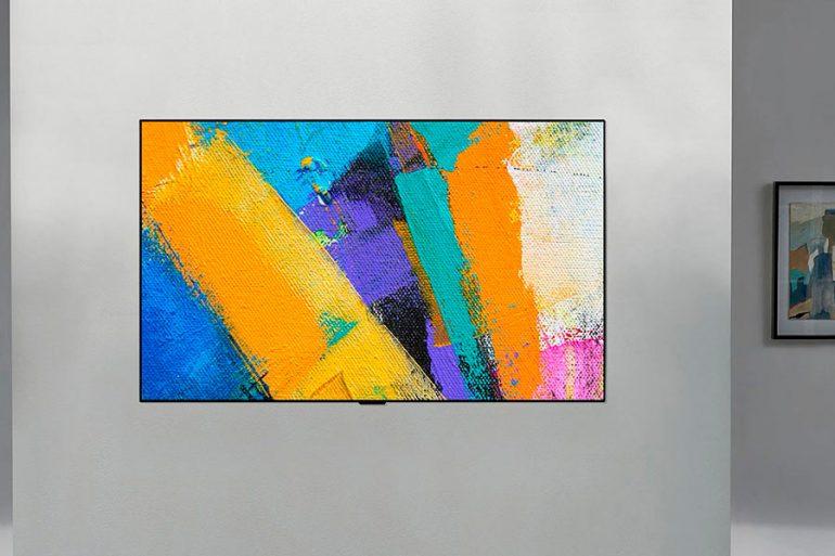 LG OLED Gallery, el televisor para los amantes del arte