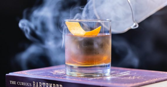 Cocteles con bourbon old fashioned