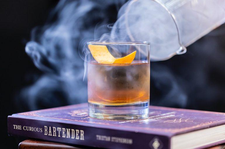 Cocteles con bourbon old fashioned