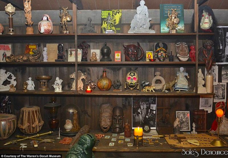 La verdadera historia de Annabelle - artefactos