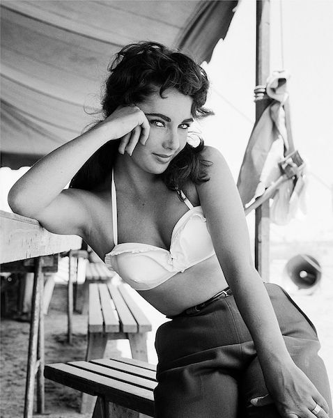 Las mujeres más hermosas de Hollywood Elizabeth Taylor